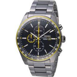 SEIKO 大黃蜂太陽能計時腕錶(SSC729P1)V176-0AZ0SD