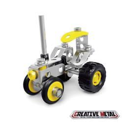 ZEYE-益智金屬積木-拖拉機(6歲)