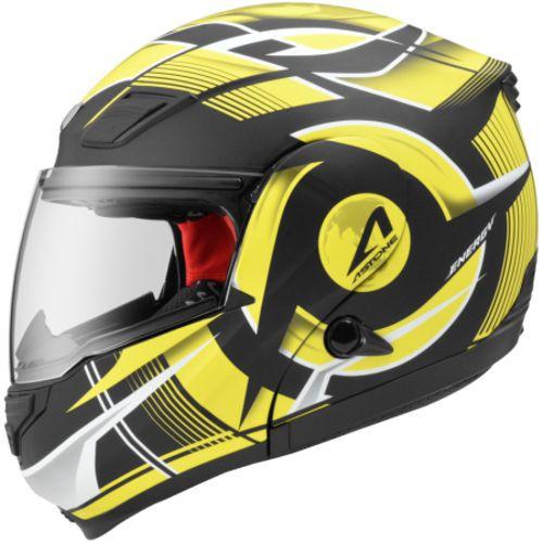ASTONE RT1100 平黑/GG20黃 內墨鏡 可掀式 通風透氣 吸濕排汗 全罩 安全帽《比帽王》