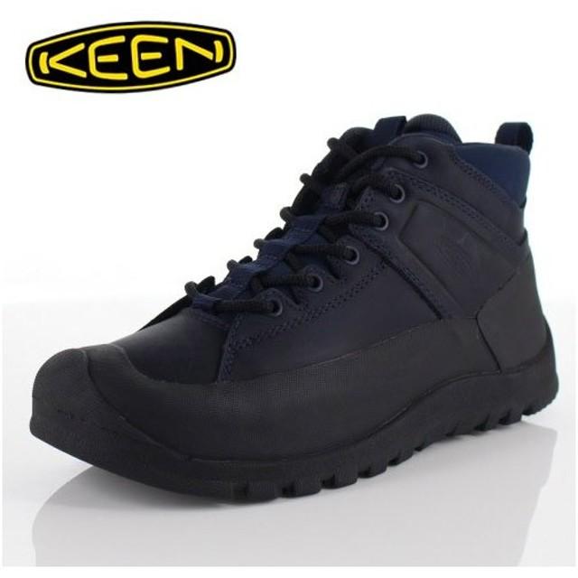 キーン KEEN シティズン キーン LTD WP CITIZEN KEEN LTD WP 1015143 メンズ レザーブーツ ブーツ 防水 ネイビー