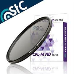 台灣STC低色偏多層奈米AS鍍膜CPL-M ND16減光鏡 82mm偏光鏡MC-CPL(防污抗刮抗靜電耐衝擊,超薄框)