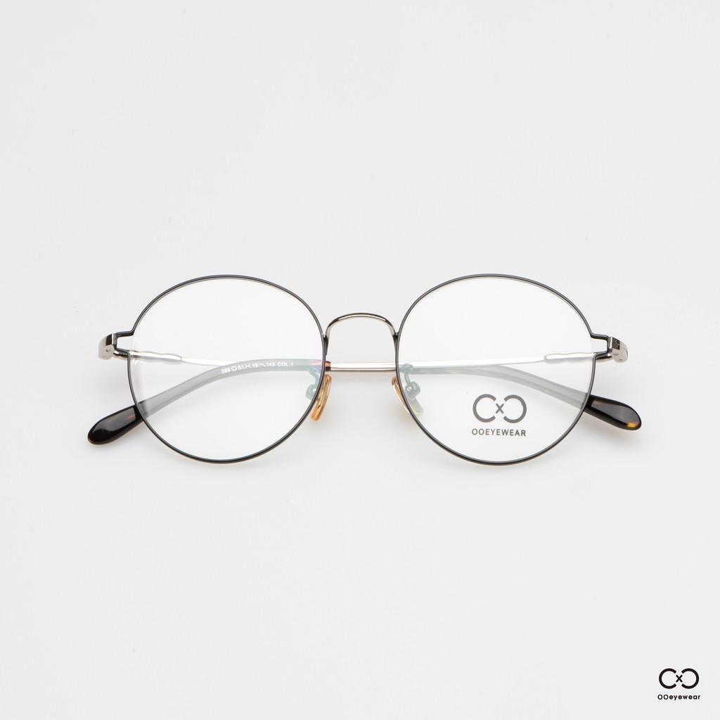 圈圈眼鏡OOEYEWEAR 側邊簍空圓框眼鏡OJ0003
