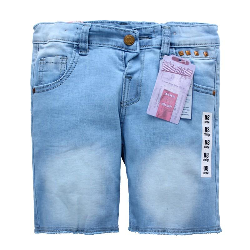 春夏款超級優質強檔時尚中性漂亮牛仔褲/短褲-8903#【21499】貝比幸福小舖