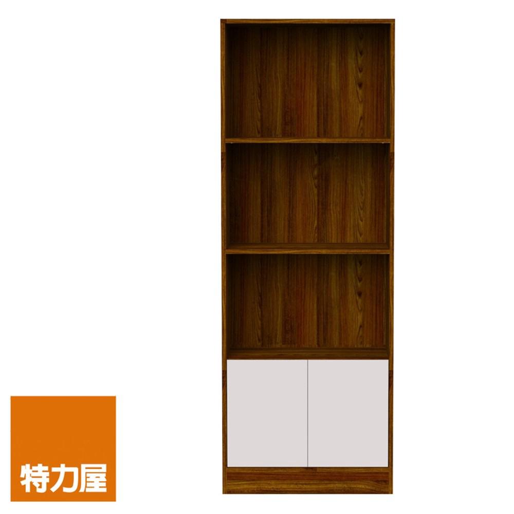 特力屋 查克雙門書櫃 採E1板材