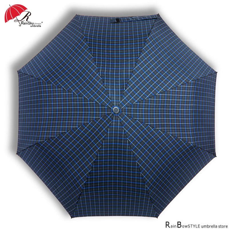 【傘市多】R.B.45型加大央格高密度自動傘 / 晴雨傘防風傘折疊傘遮光傘防曬傘抗UV傘加大傘