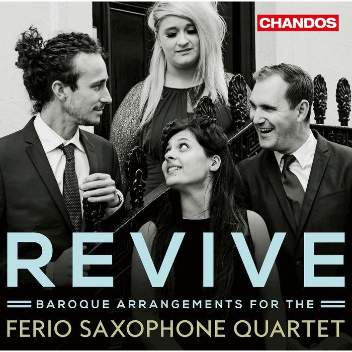 薩克斯風曲改編巴洛克名曲 Ferio Saxophone Quartet Revive CHAN10999