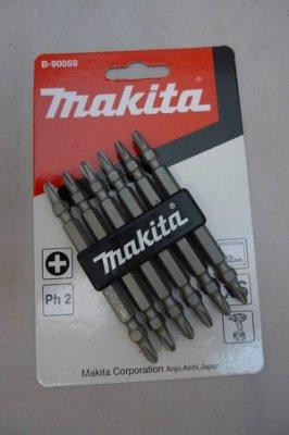 附發票~正牧田 MAKITA 電動起子頭 電動十字頭 套筒頭 高碳鋼 B-90059 2#--82mm (來電155元)