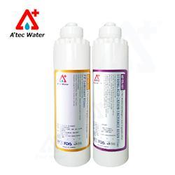 ATEC 第一道初過濾濾芯抗菌PP(AF-TP-101)一入+第二道樹脂濾芯食品級樹脂濾芯(AF-TR-101)一入