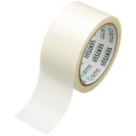 積水化学工業 新透明クロステープ No.784 0.107mm厚 幅50mm×長さ25m巻 白(半透明) 1巻