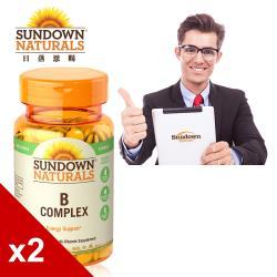 【美國Sundown日落恩賜】每日綜合B群RDV錠x2瓶組(100錠/瓶)