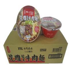 台酒TTL 花雕酸菜牛肉麵(碗)
