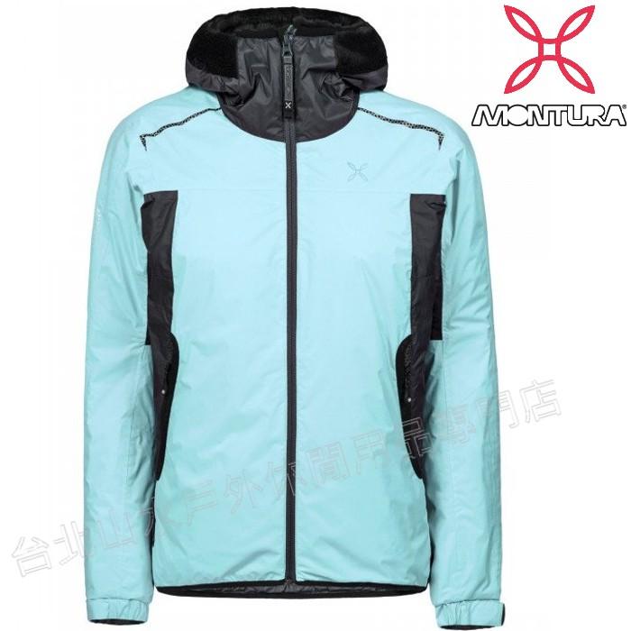 MONTURA 防水化纖/滑雪外套/雪衣 Nevis Primaloft 女MTJAD89W 2317 藍綠/咖啡