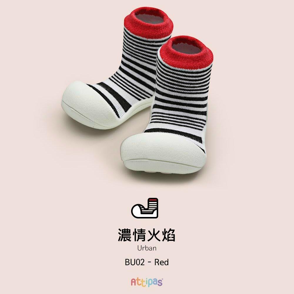 韓國Attipas快樂學步鞋-濃情火焰