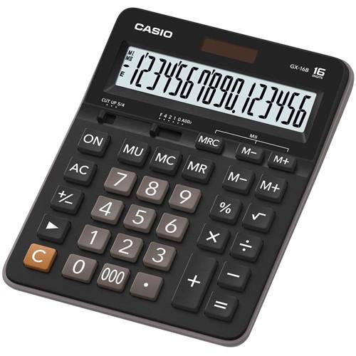 【CASIO】GX-16B 16位數 大型顯示幕 商用標準型 計算機正版宏崑公司貨