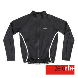 ZERORH+ 時尚刷毛防風長袖自行車外套(男)