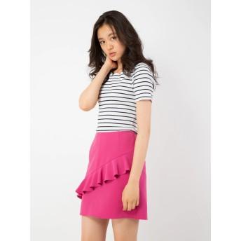 ロングスカート - CECIL McBEE フリルタイトミニスカート