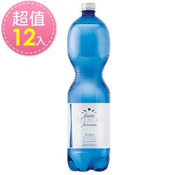 義大利 亞莉佳氣泡礦泉水(1500ml*12瓶)
