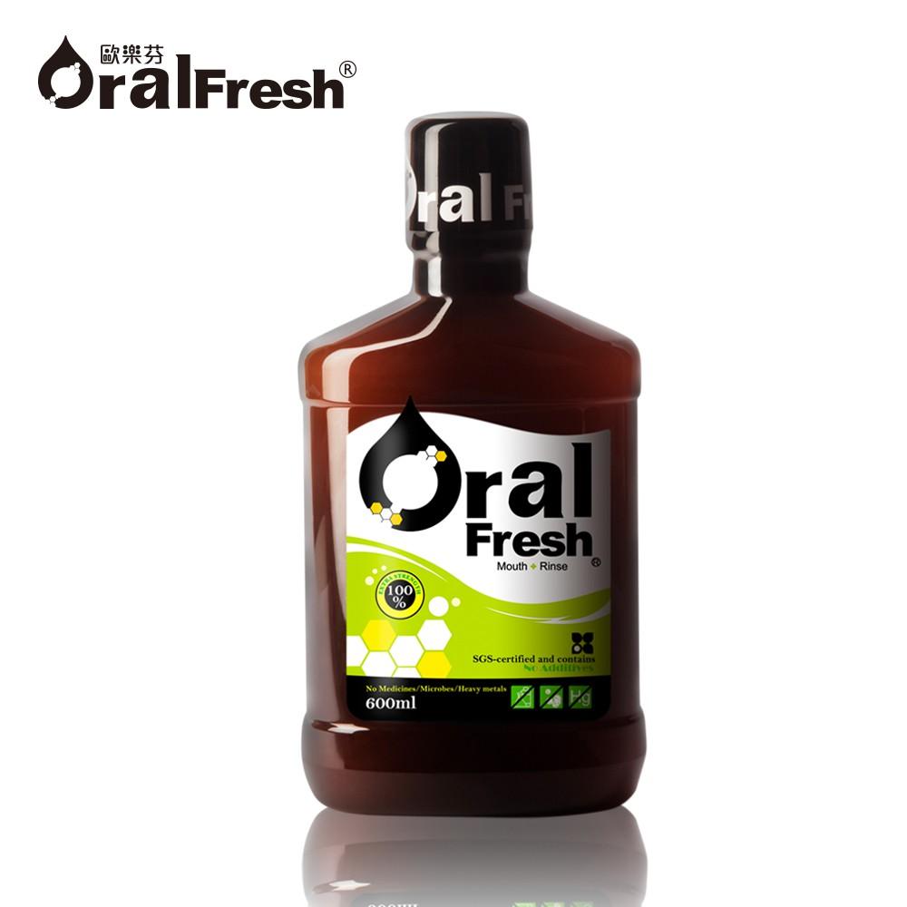 歐樂芬ORAL FRESH 天然口腔保健液 漱口水 600ML <牙周協會專利認證> 大樹