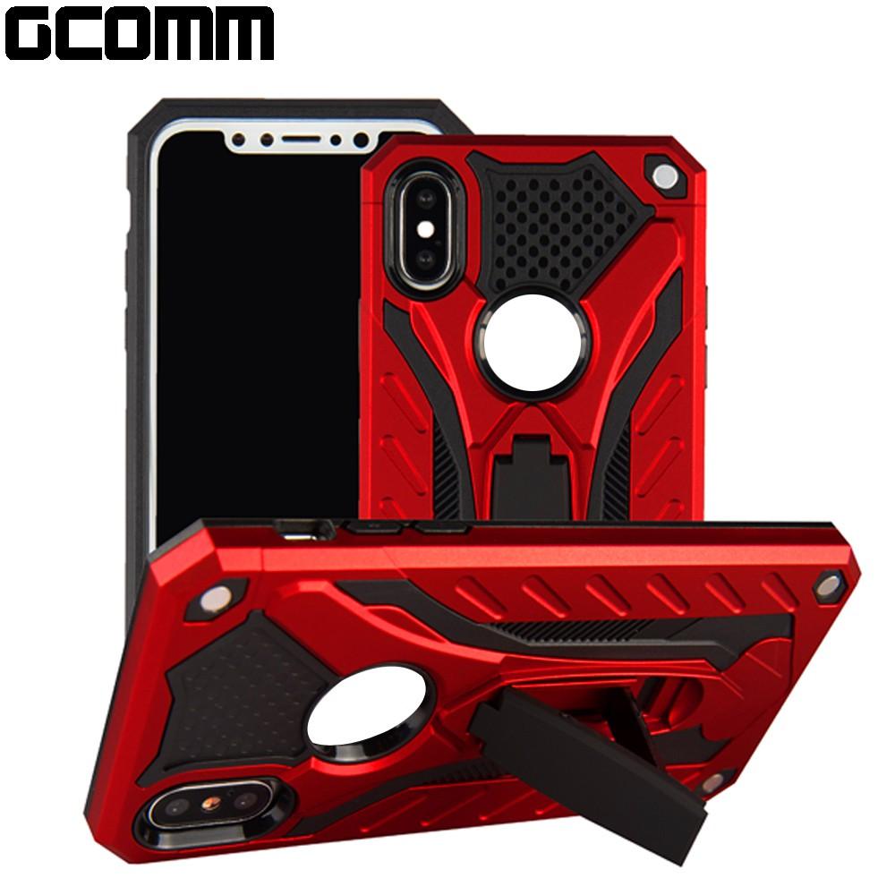 GCOMM Galaxy A8 Star A9 Star 防摔盔甲保護殼 Solid Armour 紅盔甲