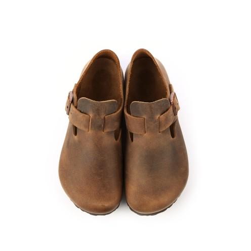 宜蘭勃肯 BIRKENSTOCK LONDON倫敦 扣帶休閒鞋 霧面焦糖 1004129