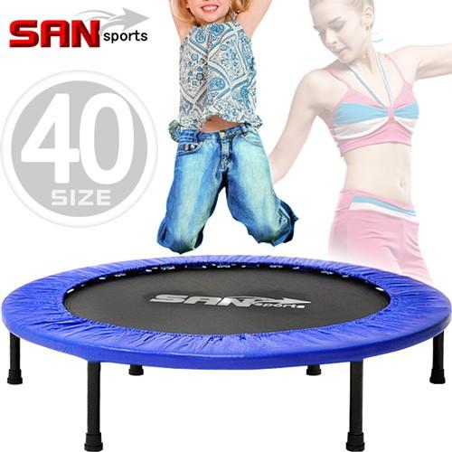 跳跳樂40吋彈跳床102cm跳跳床彈簧床跳高床有氧彈跳樂彈跳器.平衡感兒童遊戲床.運動健身器材B004-40