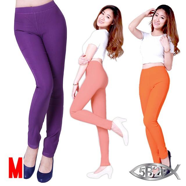 5B2F【五餅二魚】超顯瘦透氣平織褲-尺寸M