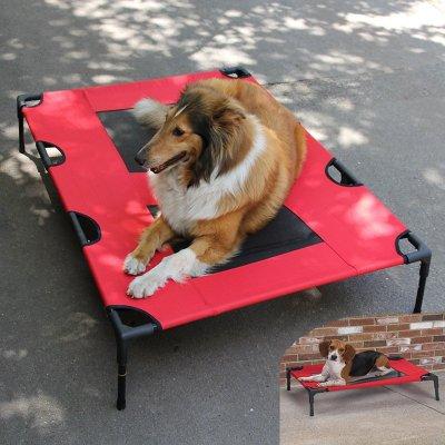 [達達3C] Y408 L號 可拆洗寵物床 狗狗透氣床 寵物可拆洗 狗窩 狗床墊 可拆洗行軍床 狗墊 寵物墊