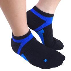 【Seraphic】厚底足弓加壓運動氣墊襪6雙組(MIT)