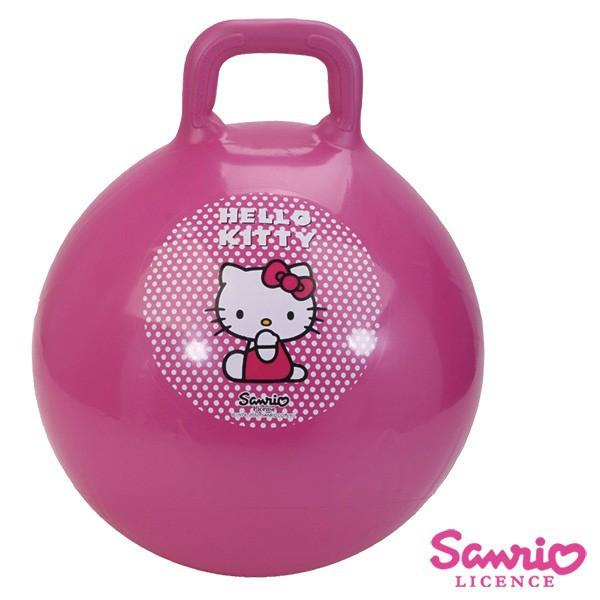 《巧天工》Hello Kitty 45cm手握跳跳球-(63-21711)