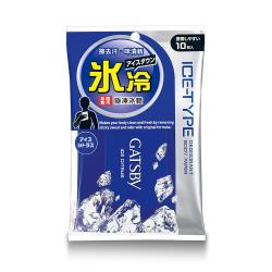 任-GATSBY 體用抗菌濕巾(極凍冰橙)10張