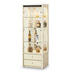 【時尚屋】[5U7]白雪松2.2尺展示櫃5U7-261-511
