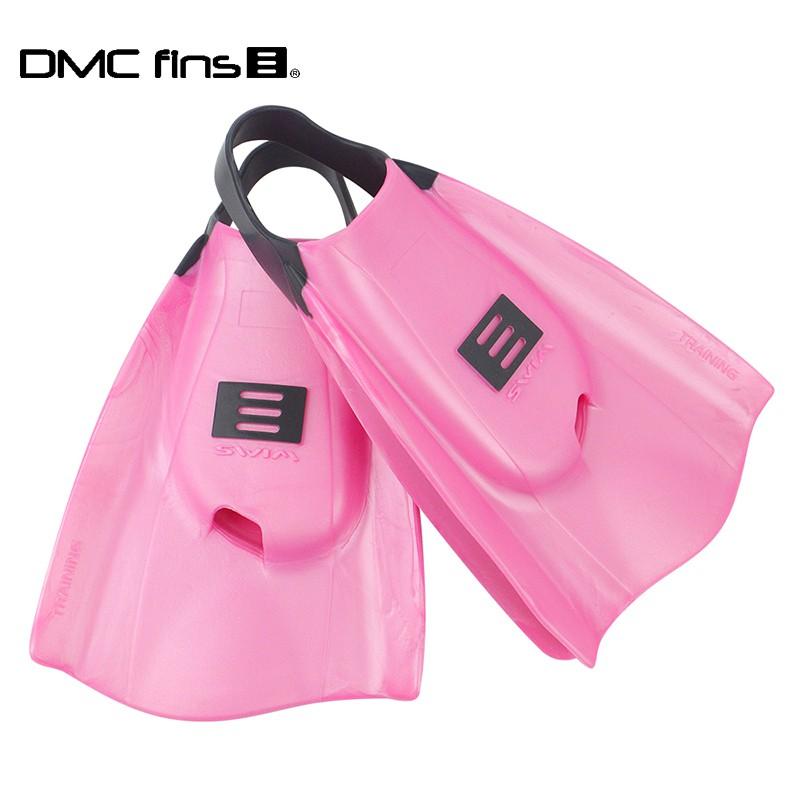澳洲DMC 訓練用專業蛙鞋 粉 ELITE FINS 1