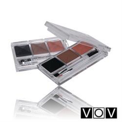 VOV 三色眉粉盒8gx1 (自然漸變眉粉盒)