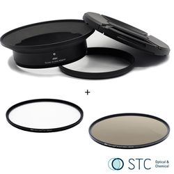 STC Screw-in Lens Adapter 超廣角鏡頭 濾鏡接環組 UV+ND64 105mm For Panasonic 7-14mm