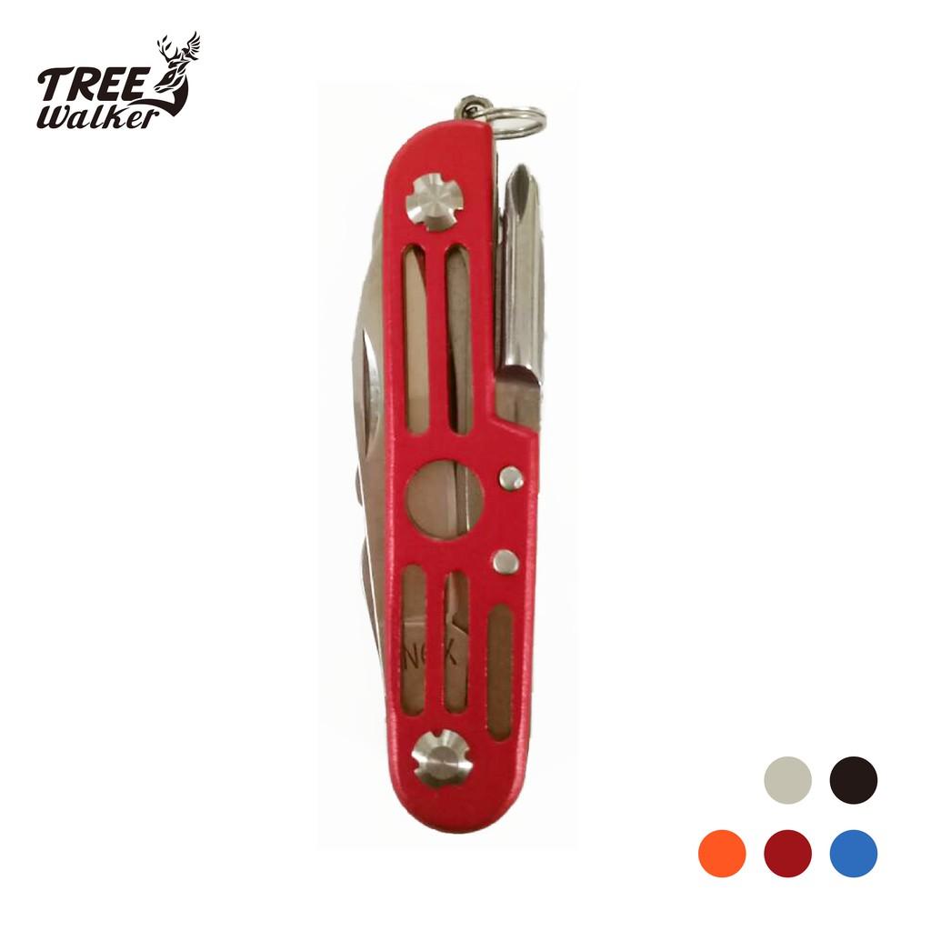 【Treewalker露遊】不銹鋼實用7.6cm高級精緻瑞士刀 野外求生登山露營必備高品質 促銷價590
