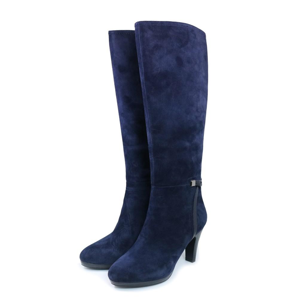 【創意者鞋坊】-韓妞時尚環扣長靴-藍色/ 女-原價6580元