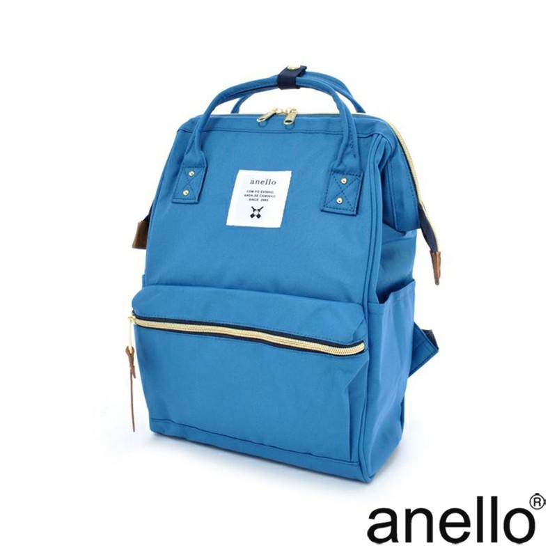 anello 經典口金後背包 天空藍 Small size(AT-B0197B-BL)