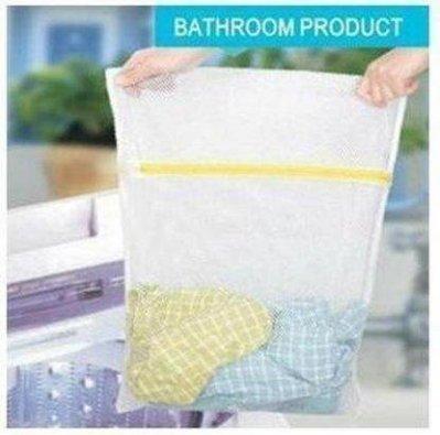 【拉拉Lala's shop】衣物不起毛球優質小號洗衣袋/衣物護洗袋30*40