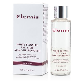 Elemis 艾麗美 白花眼唇卸妝液 White Flowers Eye & Lip Make-Up Remover 125ml/4.2oz - 眼唇護理