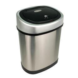 NINESTARS 時尚不銹鋼感應垃圾桶12L 廚衛系列