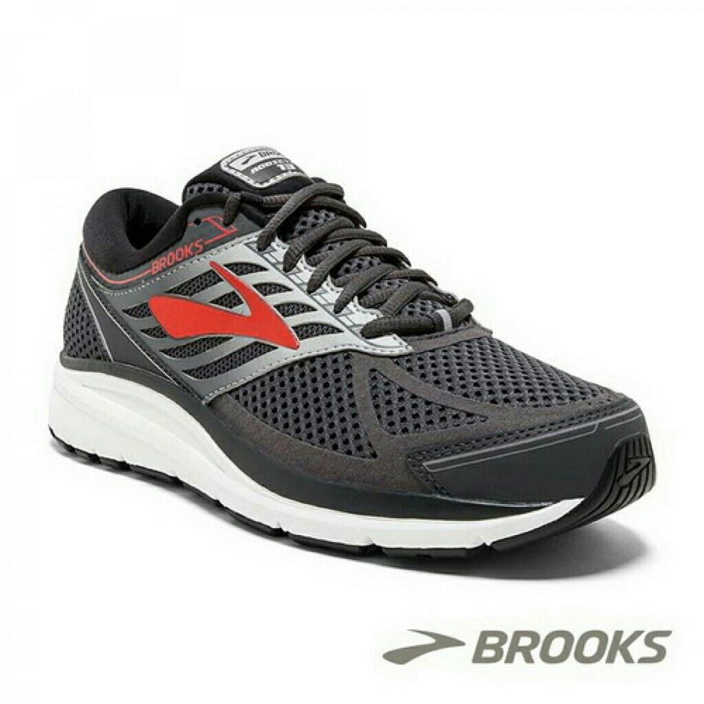 【Brooks】男 / 避震緩衝ADDICTION 13-1102614E080 - 紅黑 - 原價4290元