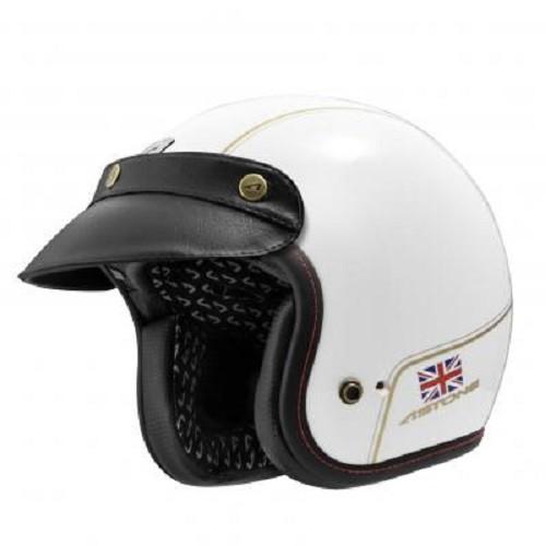 【ASTONE】SPORSTERII VV70 (白金) 安全帽 復古帽 內襯可拆洗 雙D扣