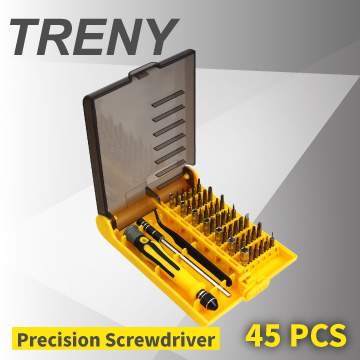 【TRENY】精密螺絲起子組-45合1