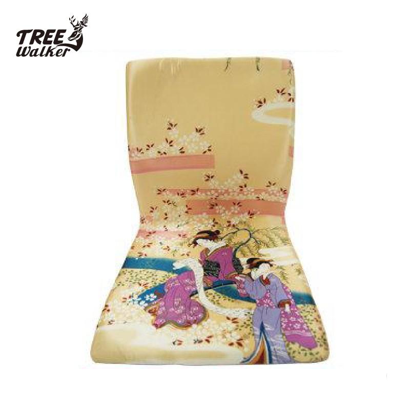 【Treewalker露遊】貴氣仕女圖櫻花香檳金和室椅 .優質懶人靠椅 單人室內椅.矮桌適用茶桌椅 促銷800