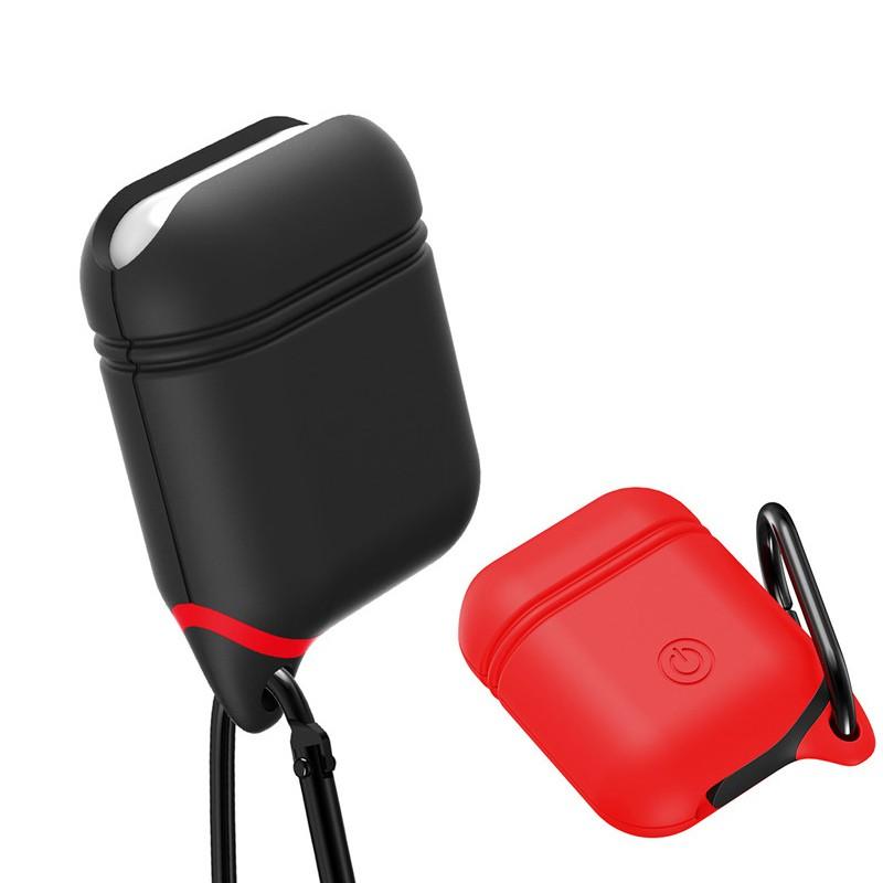 AirPods 保護套 蘋果無線耳機套 硅膠 分離防塵塞款 防摔 防爆 防塵 防水 防掉落