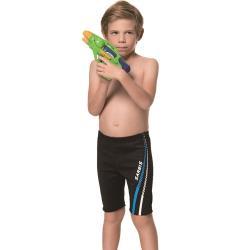 SARBIS泡湯 SPA兒童七分泳褲附泳帽B65808-01