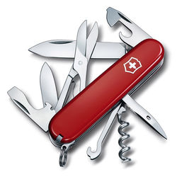 VICTORINOX 瑞士維氏攀登者14用瑞士刀-紅 13703