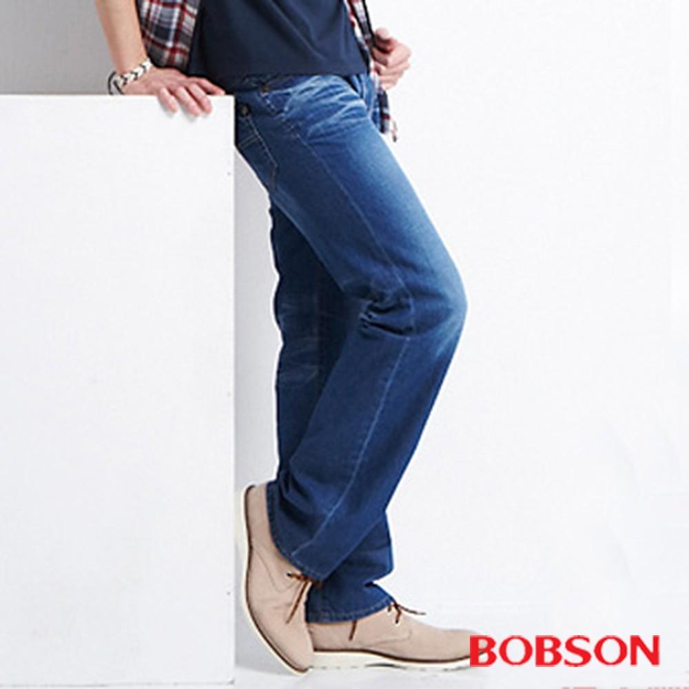 BOBSON 男款衣絲不罣涼爽直筒牛仔褲1770-53