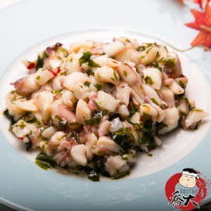 芥末魷魚 (200g±10%/包)《喬大海鮮屋》