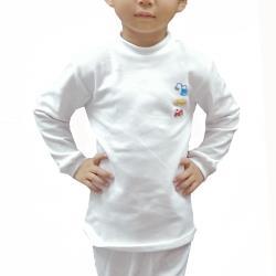 LOVIN 一王美4件MIT超彈性男童工程車高領衛生衣